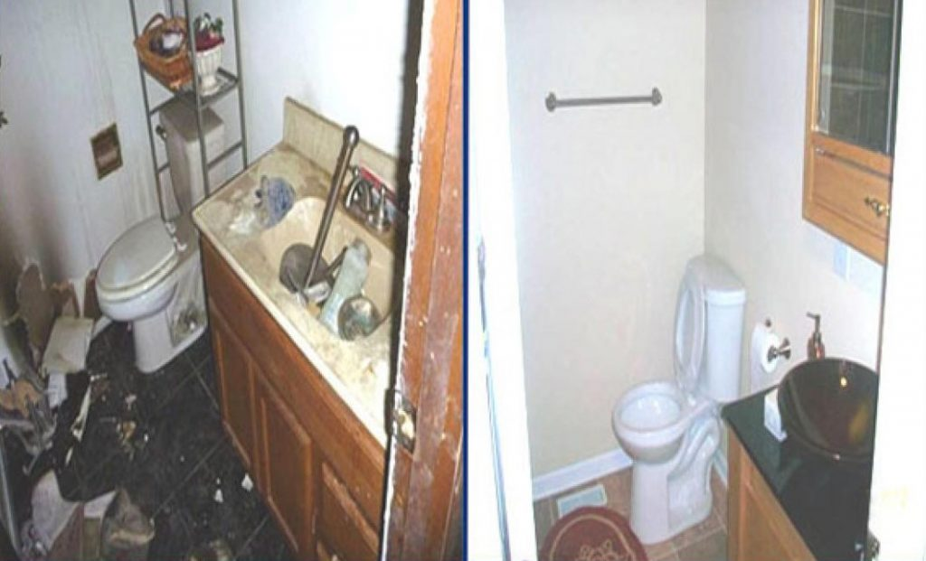 Sewage overflow in Jersey City New Jersey requiring water damage restoration and mold removal