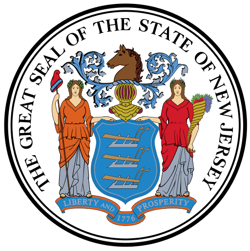 The State of New Jersey Official Seal